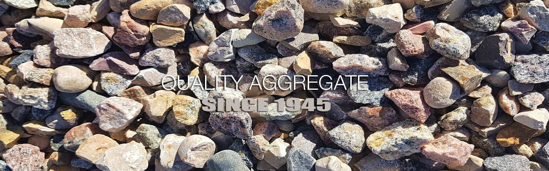 Quality Aggregate Since 1945 | aggregate production